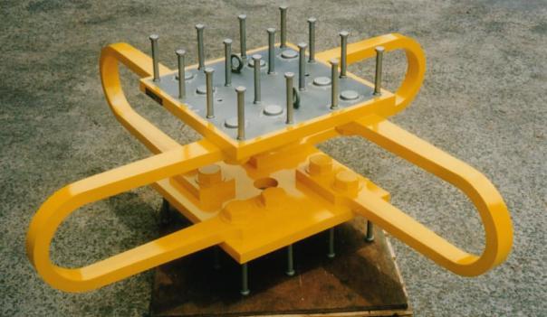 <h3><strong>新日鐵制震產品 - U 型阻尼器</strong></h3>